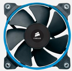 Ver Corsair Ventilador Caja SP120 high pressure fan 120 mm x 25 mm 3 pin Dual Pack