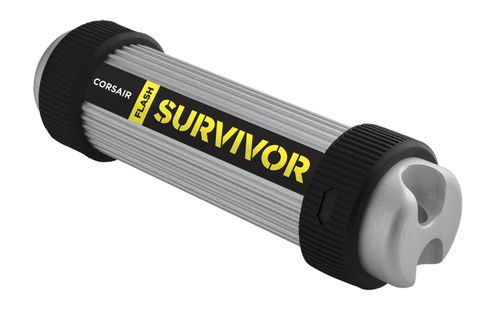 Ver Corsair Flash Survivor 256GB USB 3 0 Negro Gris unidad flash USB