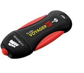 Ver Corsair Flash Voyager GT 128GB USB 3 0 Negro Rojo unidad flash USB