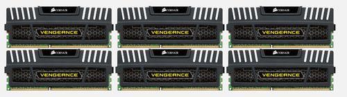 Ver Corsair Vengeance 24GB DDR3 1600MHz modulo de memoria