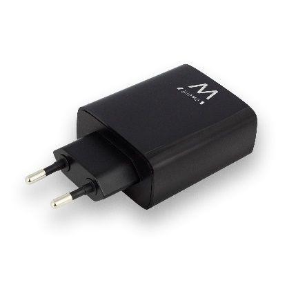 EWENT USB AC charger smart IC 4 ports 54A 27W black