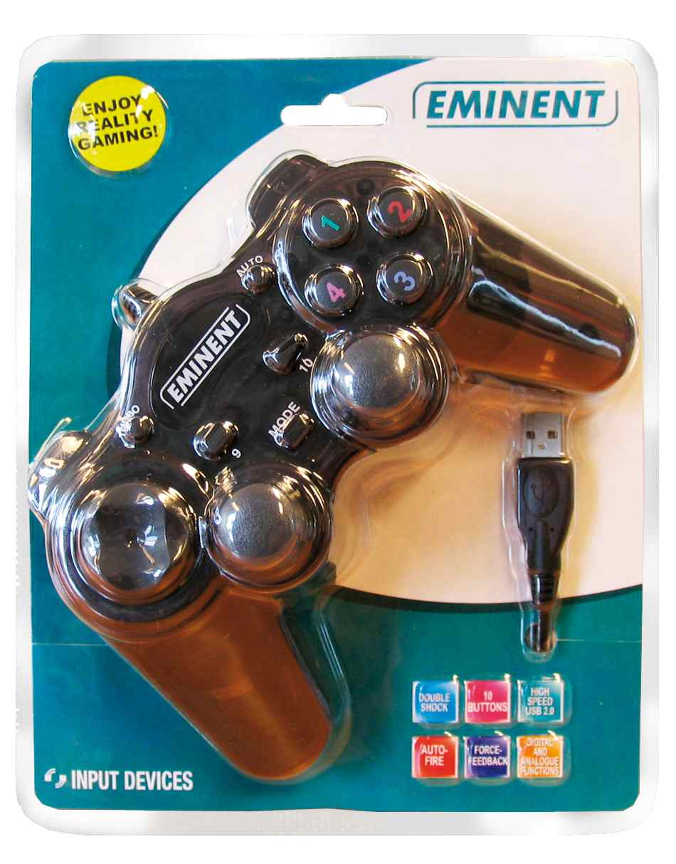 Ver Eminent USB Double Shock Joypad