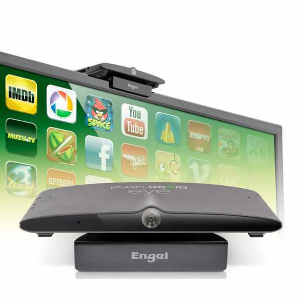 Engel Axil Engeldroid Eye Receptor con webcam