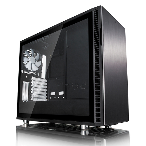 FRACTAL CAJA DEFINE R6 BLACK VENTANA CRISTAL TEMPLADO USB C ATX