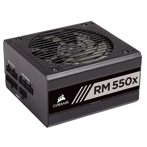 Ver CORSAIR SERIES RM550X 80 GOLD FULL MODULAR 550 WATT