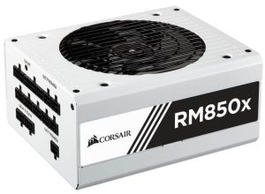 Ver CORSAIR SERIES RM850X BLANCA 80 GOLD FULL MODULAR 850 WATT