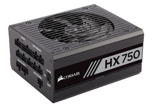 Fuente Alimentacion Corsair Hx750 750 Watt Fully Modular 80 Platinum