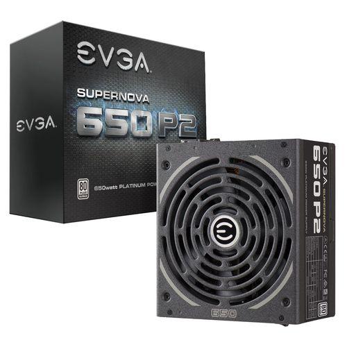 Ver EVGA SUPERNOVA 650 P2 80 PLATINUM 650W
