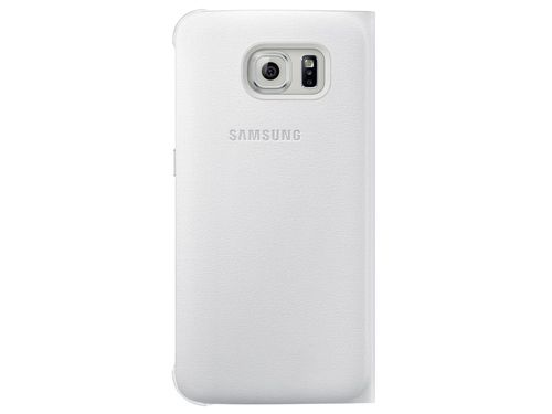 FUNDA SAMSUNG GALAXY S6 Flip Wallet PU White
