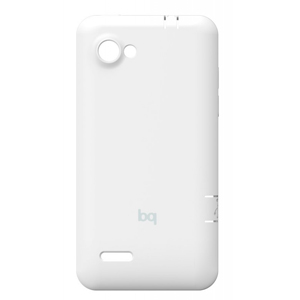 Funda Tablet Bq Back Cover Blanco Para Aquaris 45
