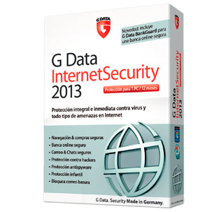 G Data Internet Security 2013 1 Ano  71122