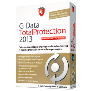 G Data Total Protection 2013 1 Ano  71124