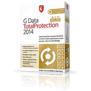 G Data Total Protection 2014 3pc 12 Meses  6m Gratis Caja  71505
