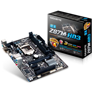 Gigabyte Placa Base Z87m-hd3