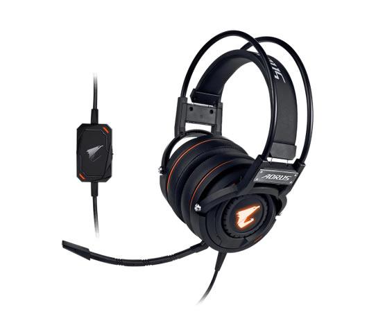 Gigabyte Aorus H5 Auriculares Diadema Negro