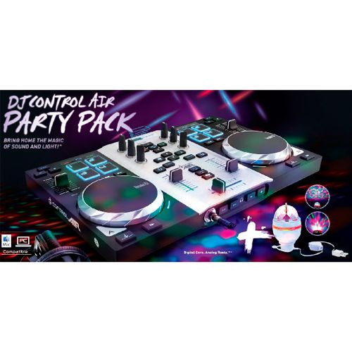 Ver HERCULES CONSOLA DJ CONTROL AIR PARTY PACK