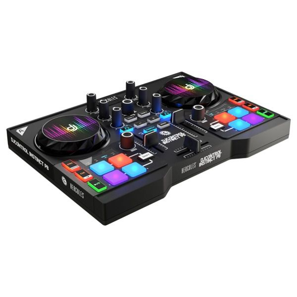 Ver HERCULES CONSOLA DJ INSTINCT P8 PARTY PACK
