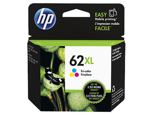 Ver HP 62XL Tri color Ink Cartridge C2P07AE