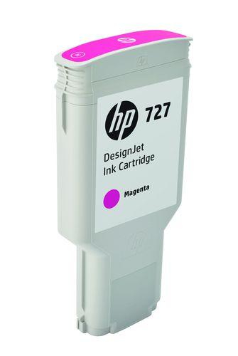 HP Cartucho de tinta DesignJet 727 magenta de 300 ml