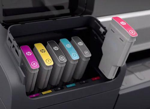 Ver HP Cartucho de tinta DesignJet 745 magenta de 300 ml