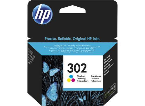 Ver HP Tinta Ink302 Tri Color