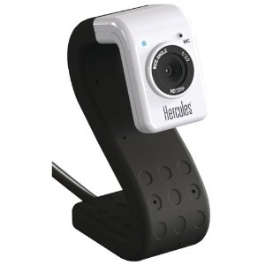 Hercules Webcam Hd Twist Black  4780718