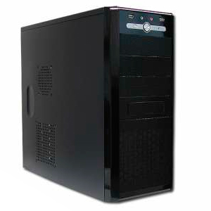 High Tech Caja Semitorre Atx  F500w 2024p