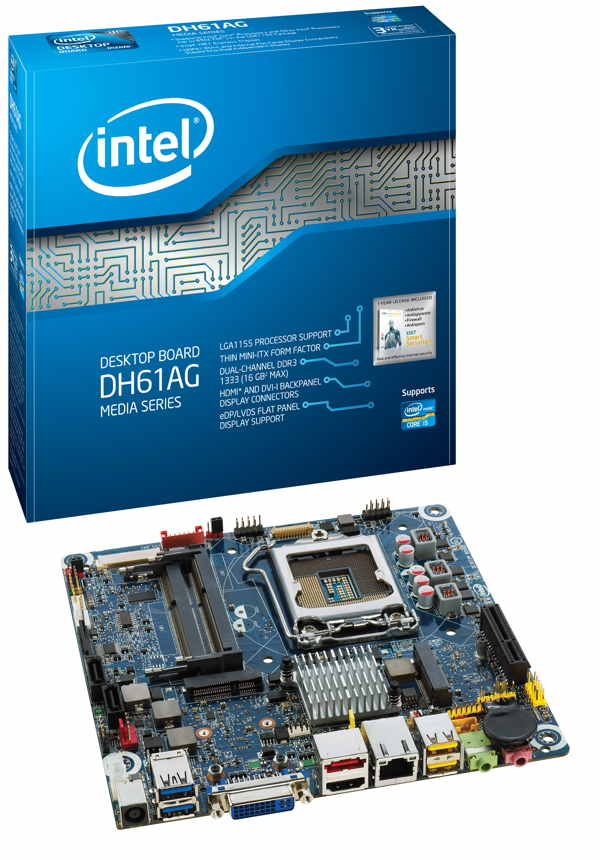 Intel Placa Base Dh61ag