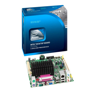 Intel Placa D525mw  Box  Mount Washington
