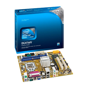 Intel Placa Dg41wv  Box  Warm River