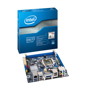 Intel Placa Dh67cfb3  Bulk  Clear Fork