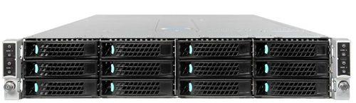 Intel H2312XXLR3 Estante 2130W Negro Plata carcasa de ordenador