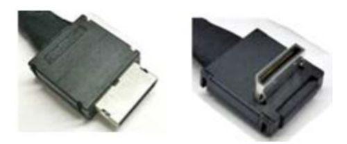 Intel Oculink Cable Kit AXXCBL700CVCR OCuLink SFF 8611 OCuLink SFF 8611 Negro adaptador de cable