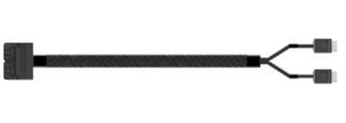 Intel Oculink Cable Kit AXXCBL700HDCV SFF 8643 2 x OCuLink SFF 8611 Negro adaptador de cable