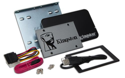 Ver KINGSTON 120G SSDNOW UV500 SATA3  BUNDLE SUV500B120G