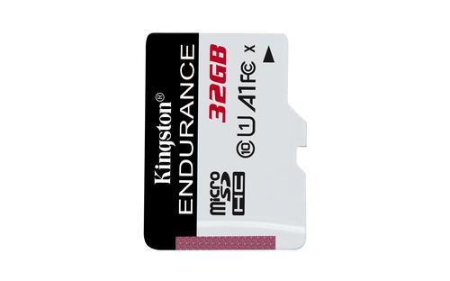 Ver KINGSTON 32GB MICROSDHC ENDURANCE 95R30W C10 A1 UHS I CARD ONLY