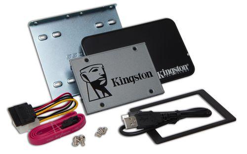 Ver KINGSTON 480G SSDNOW UV500 SATA3 BUNDLE SUV500B480G