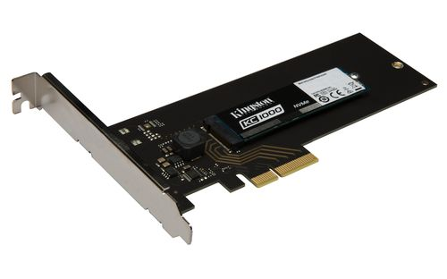 Ver KINGSTON SSD KC1000 480GB KC1000 NVME PCIE SSD