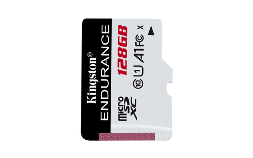 KINGSTON TARJETA DE MEMORIA MICRO SD ENDURANCE 128 GB Clase 10 UHS I