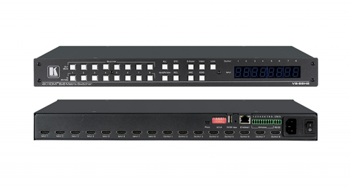 KRAMER VS 88H2 8X8 4K HDR HDCP 22 MATRIX SWITCHER WITH DIGITAL AUDIO ROUTING
