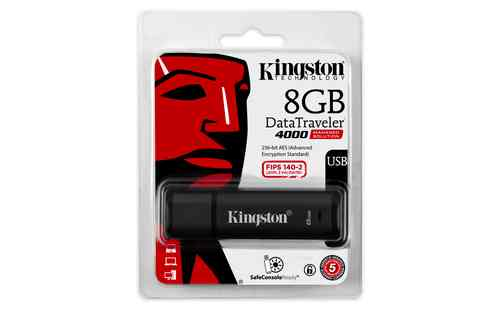 Kingston Technology Datatraveler 4000 Management Ready 8gb