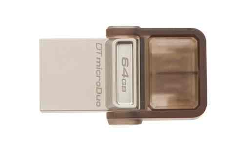 Ver Kingston Technology DataTraveler microDuo OTG 64GB