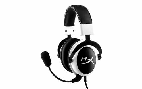 Ver Kingston Technology HyperX Cloud Headset  White
