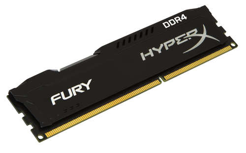 Ver Kingston Technology HyperX FURY Memory Black 4GB DDR4 2400MHz CL15