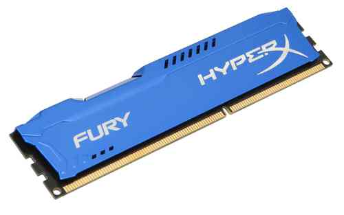 Ver Kingston Technology HyperX Fury Memory Blue 4GB 1866MHz DDR3