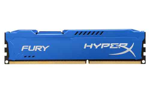 Kingston Technology Hyperx Fury Memory Blue 4gb 1866mhz Ddr3