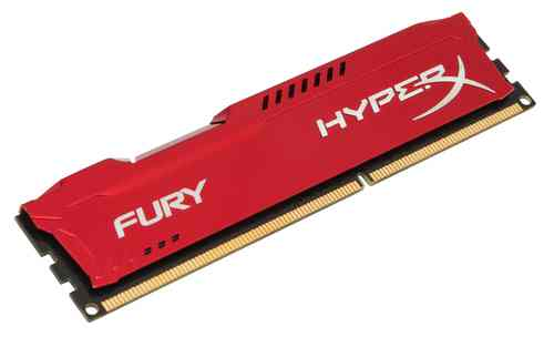 Ver Kingston Technology HyperX Fury Memory Red 4GB 1866MHz DDR3