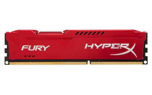 Kingston Technology Hyperx Fury Memory Red 8gb 1600mhz Ddr3