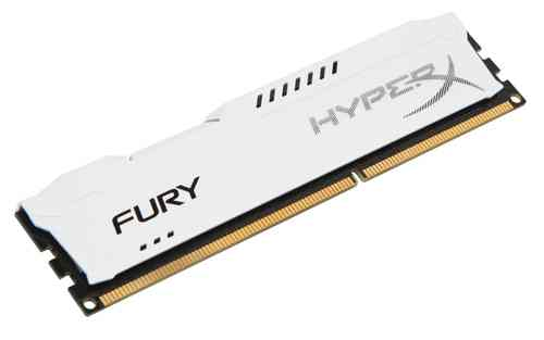 Ver Kingston Technology HyperX Fury Memory White 4GB 1600MHz DDR3