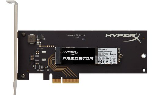 Ver Kingston Technology HyperX Predator SSD HHHL 480GB